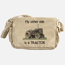 Ride a Tractor Messenger Bag