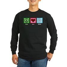 Peace Love Science T
