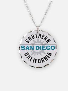 San Diego California Necklace