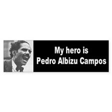 my hero... Bumper Bumper Sticker