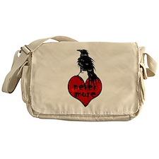 Nevermore Raven Messenger Bag