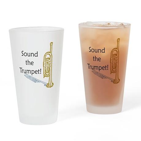 Trumpet Drinking Glass