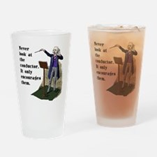 Conductor Drinking Glass