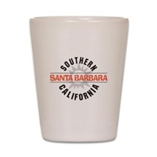 Santa Barbara Shot Glass