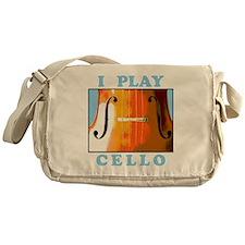 I Play Cello Messenger Bag