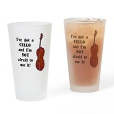 I've Got a Cello Drinking Glass