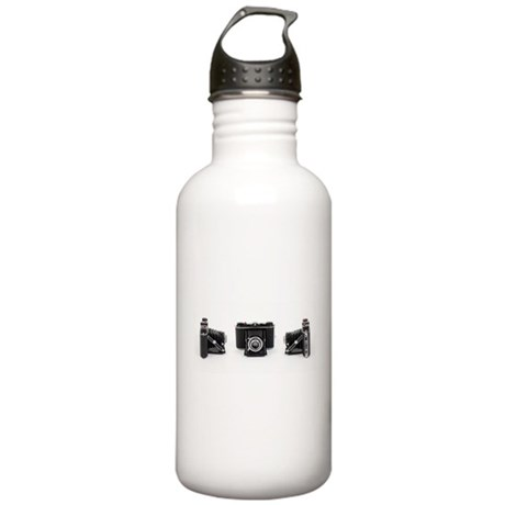Retro Photography Stainless Water Bottle 1.0L