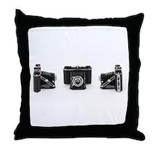 Retro Photography Throw Pillow