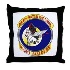 160th SOAR Throw Pillow