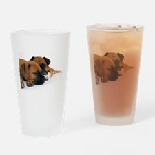 Boxers 1 Drinking Glass