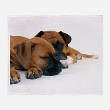 Boxers 1 Throw Blanket