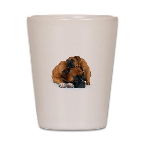 Boxer 3 Shot Glass