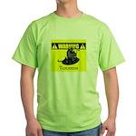 Warning: Taurus Green T-Shirt