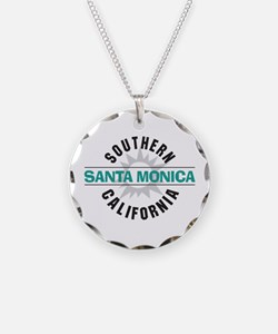 Santa Monica California Necklace