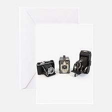 Retro Cameras Greeting Cards (Pk of 10)