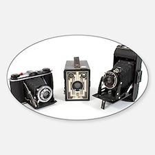 Retro Cameras Decal