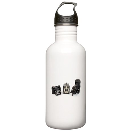 Retro Cameras Stainless Water Bottle 1.0L