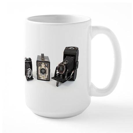 Retro Cameras Large Mug