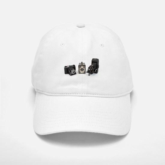 Retro Cameras Baseball Baseball Cap