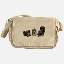 Retro Cameras Messenger Bag