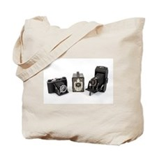 Retro Cameras Tote Bag