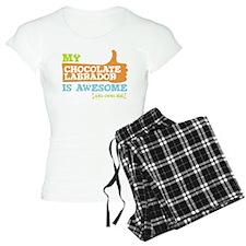 Awesome Chocolate Labrador Pajamas
