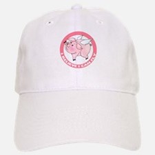 Inspirational Flying Pig Baseball Baseball Cap