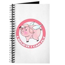 Inspirational Flying Pig Journal
