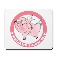 Inspirational Flying Pig Mousepad