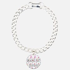 Maid Of Honor Hearts Bracelet