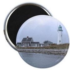 """Old Scituate Lighthouse 2.25"""" Magnet (10 pack)"""
