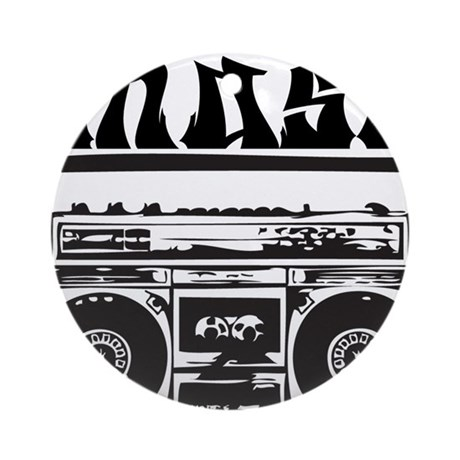 Chase boombox Ornament (Round)