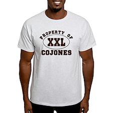 Property Of XXL Cojones T-Shirt