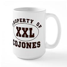 Property Of XXL Cojones Mug