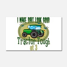 Tractor Tough 3rd Car Magnet 20 x 12