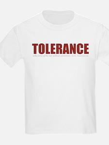 Tolerance Kids T-Shirt