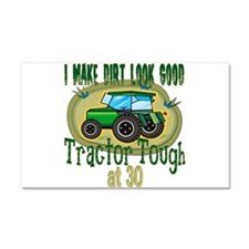 Tractor Tough 30th Car Magnet 20 x 12