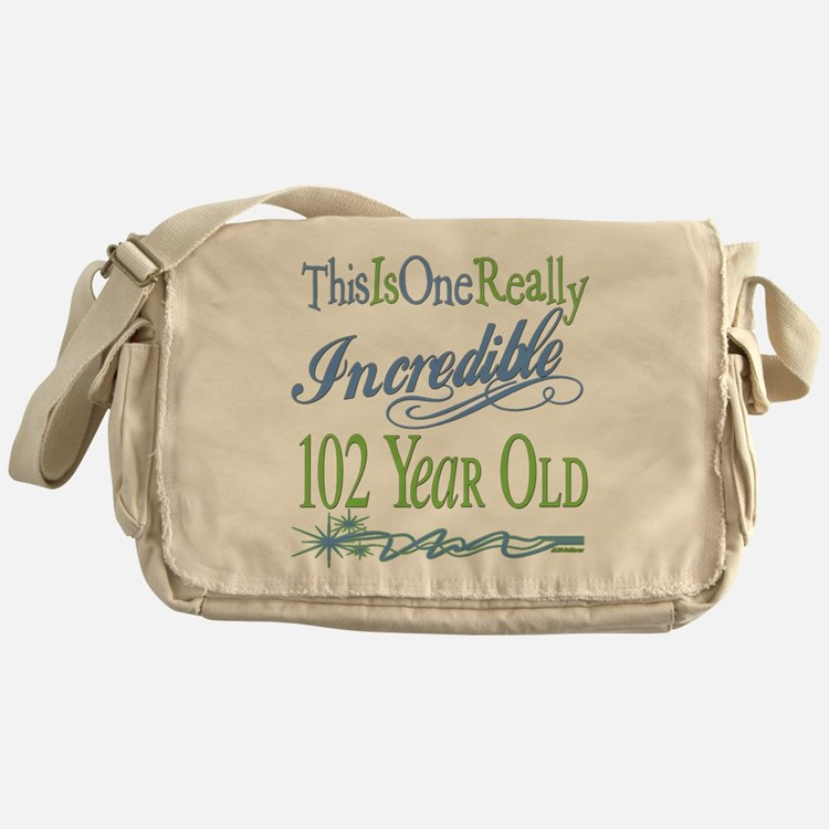 Incredible 102nd Messenger Bag