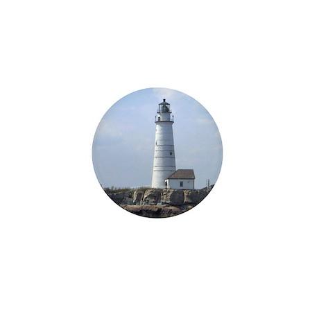 Boston Lighthouse Mini Button (100 pack)