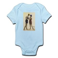Vintage Swimmers Infant Creeper