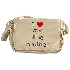 I love my little brother Messenger Bag