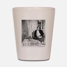 Bukowski Shot Glass