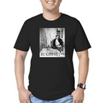 Men's Fitted T-Shirt (dark) BUKOWSKI by Sam Cherry
