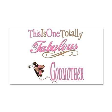 Fabulous Godmother Car Magnet 20 x 12