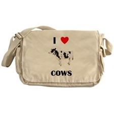 I love cows Messenger Bag