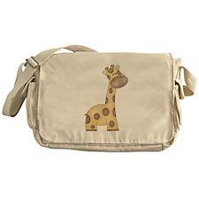 Cartoon Giraffe Messenger Bag