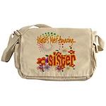 Most Amazing Sister Messenger Bag