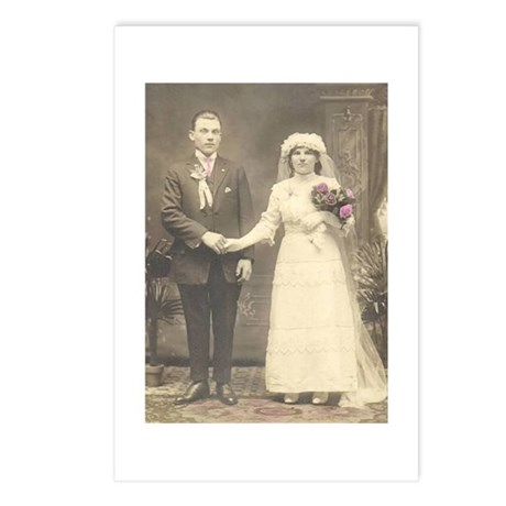 Antique Wedding Photo Postcards (Package of 8)