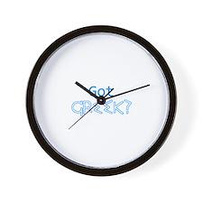 GotGreek2 Wall Clock