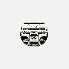 boombox Mini Button